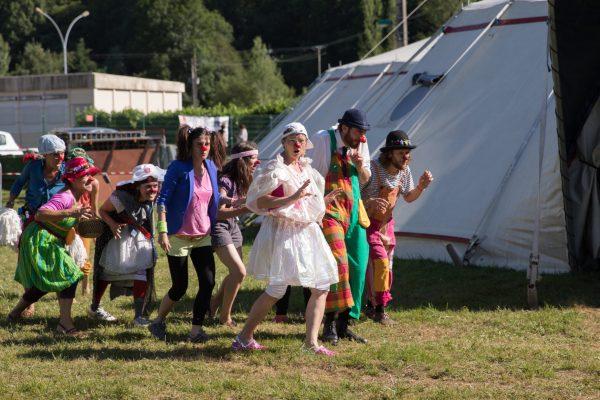 Les Nez Perchés au festival Tête dans l'air