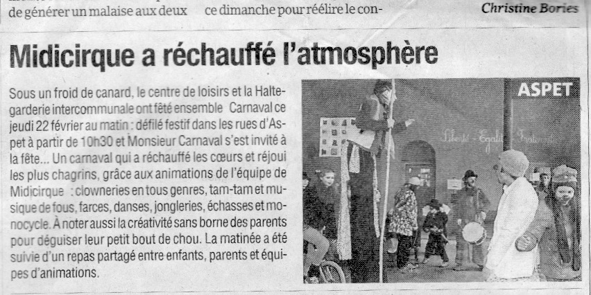 La Gazette du 6 mars 2018